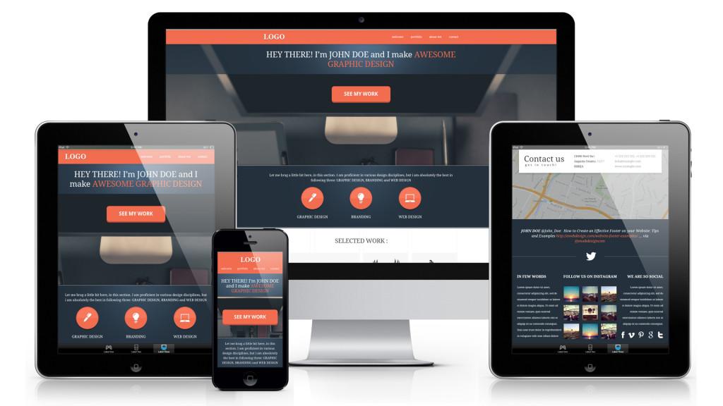 "responsive web design ""Η ιστοσελίδα σας πρέπει να εφαρμόζει και να δείχνει τέλεια σε όλες τις συσκευές και οθόνες"""