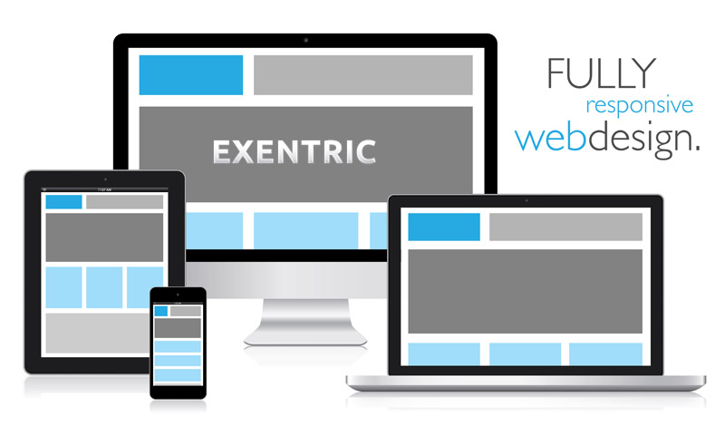 responsive web design by exentric.gr